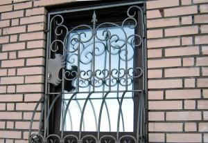 решетки ковка на окна