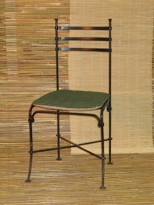 кованые стулья с мягким сидением киев