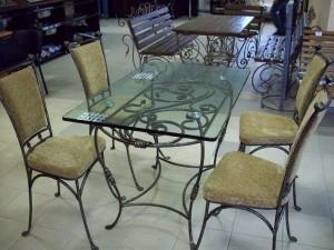 кованые столы и стулья в наличии у производителя в киеве