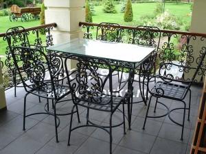 кованые столы и стулья купить или заказать в киеве