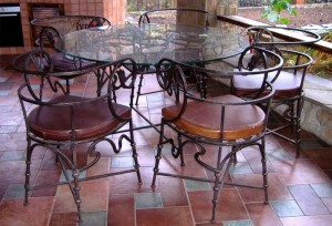 кованый стол и стулья садовые недорогие