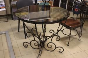 кованые столы и стулья под заказ в киеве