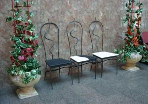 кованые стулья высокие