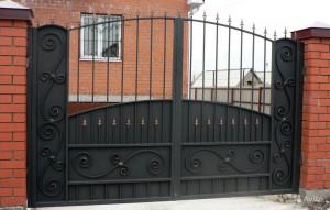 ворота для дома распашные
