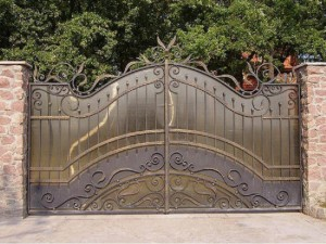 ворота кованые для дома и дачи