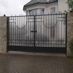 ворота сварные из поликарбоната