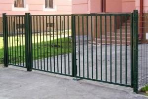 ворота сварные секционные