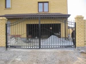 ворота сварные из прута