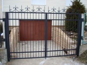 ворота простые сварные