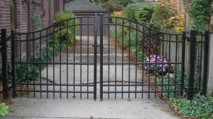 простые сварные ворота