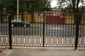 ворота сварные небольшие