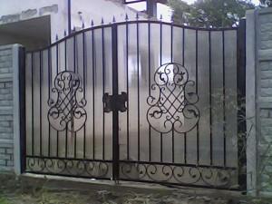 ворота сварные поикарбонат