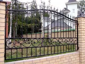 сварной забор крепкий