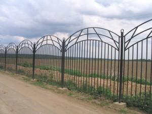 секционный забор ограждение