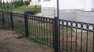 невысокий забор для ограждения