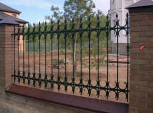 забор сварной с элементами ковки от производителя