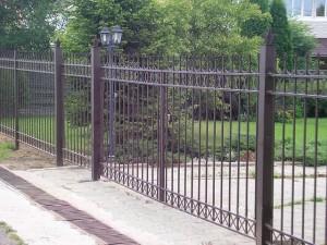 забор сварной для ограждения территории
