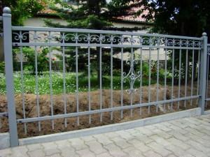 сварной секционный забор 1 метр