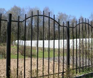 сварной забор от производителя с установкой