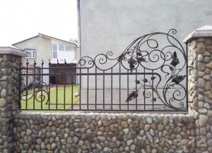 забор художественная ковка