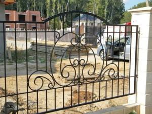 сварной забор с установкой от производителя