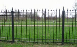 секционный сваронй забор от производителя