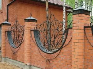 оригинальный кованый забор от производителя