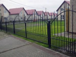 недорогой сварной забор