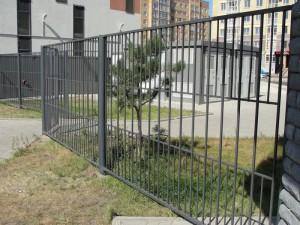 сварной секционный забор из прута