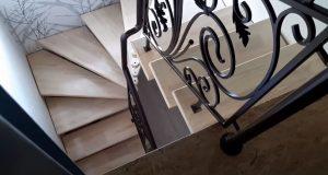 перила металлические для лестницы в доме